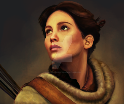 Katniss (unfinished) by Superior-Silverfox