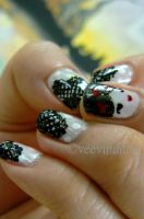 Geisha with PolkaDot and laces by VeeviS2