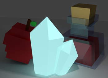 Super Low Poly Items by Quindleton