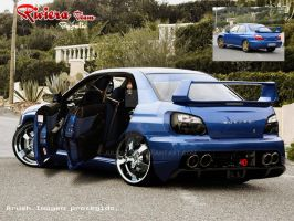 Subaru impreza Tuning by julioleite
