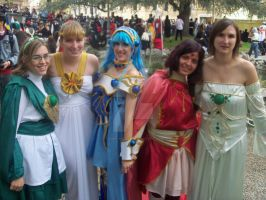 Rayearth Group by Cosmy-Milord