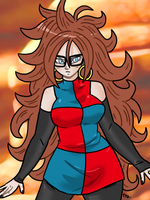 Dragon Ball FighterZ - Android 21 01 by theEyZmaster