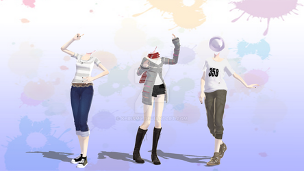 TDA Outfits -DL- by KhrisMx