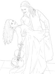 The prince and the violinist - Ragnalis by LaChicaRara