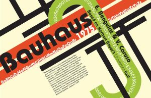 Bauhaus typeface poster by sc-campbell