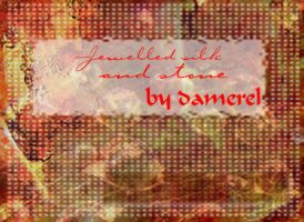 Textures: Jewel silk and stone by damerel