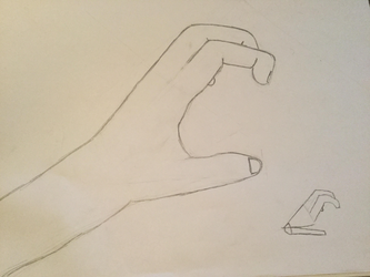 Hand - Attempt #3 by vicky271