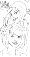 Max and Chloe 2 (WIP) by stevenf