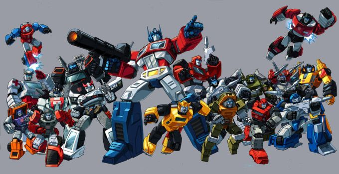 Classic Autobots 84 by Dan-the-artguy