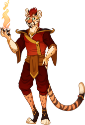 Fire Mage Adopt (CLOSED) by Kingfisher-Gryphon
