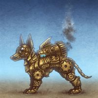 MechDog by Beffana