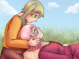 together in a meadow by TheApatheticKat