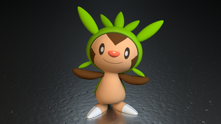 #650. Chespin by TheAdorableOshawott