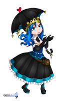 Little Princess - Fairy Tail(Coloring) by aeroblade7