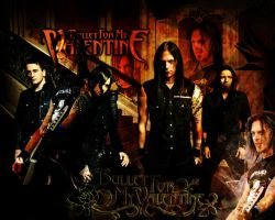 Bullet for my valentine - bfmv by Pwincessnaveera