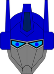 TFM Optimus Prime Head design by JMK-Prime