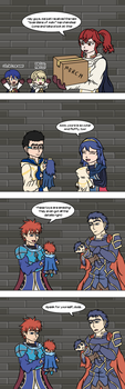 Fire Emblem Heroes - Always check all the details by Sayer09