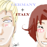 Germany and Italy by narusaku4everinlife