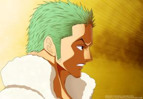 Zoro One Piece CH 680 by DrLinuX