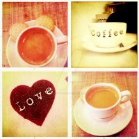 Love Coffee by MagpieMagic