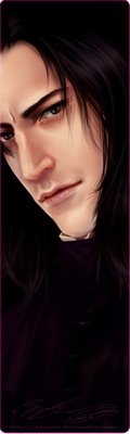 Severus Snape 2013 by KaseiArt