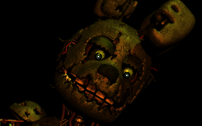 Just Springtrap looking at you by Popi01234