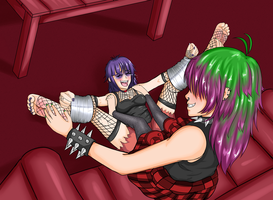 The Punks, The Tapes and The Ticklish by codricor1