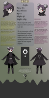 Iris Reference [The Experiment OCT] by guzu