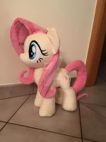 WIP Fluttershy Plush Mane and Tail by LeFay00