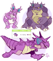 Pokedesign - Nidoking