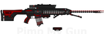 D.I.I. HVRSR-140 'Hellsbreath' HV Rail Sabot Rifle by Lord-DracoDraconis