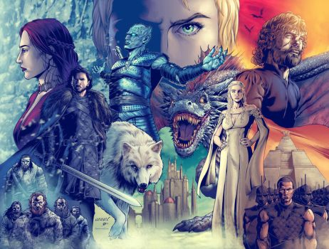 Game of Thrones DPS Colored by MannixFrancisco
