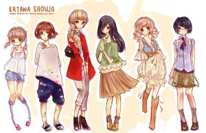 casual outfits by Kaiami