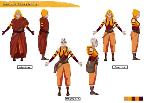 Lhamo Costume Design pt. 3 by acrazymind