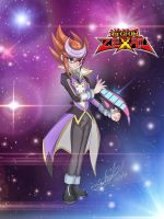 Vega - (Yugioh Zexal OC) Numbers Hunter by Zer0-Stormcr0w