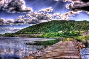 Off the beaten Path HDR by Witch-Dr-Tim