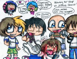 Bowling For Soup VS Justin Bieber by Violent-Rainbow