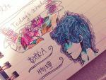 my schedule note's doodle by Tinypop