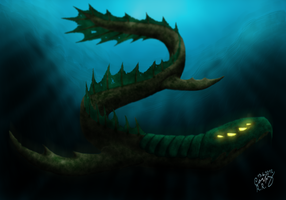Leviathan by PhotoDragonBird