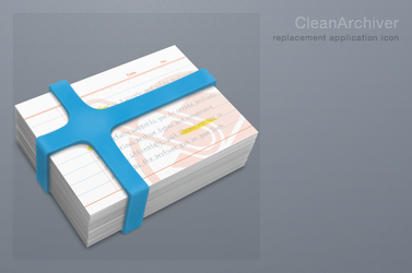 CleanArchiver Icon by 1024jp