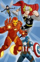 Avengers Assemble by Godsartist
