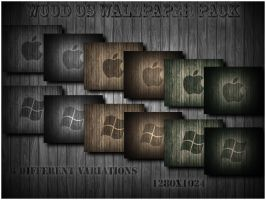 Wood OS Wallpaper Pack by Jamaal10