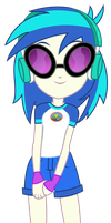 Vector - Camp Everfree Vinyl Scratch by SketchMCreations