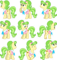 Ms. Peachbottom Vectors Set 2 by Jeatz-Axl