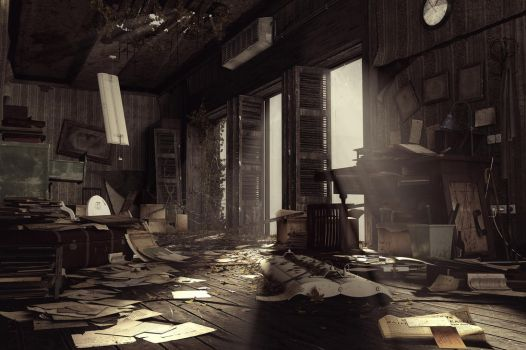 Abandoned Office by amirabd2130