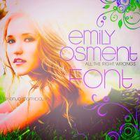 Font Emily Osment 2 by EnjoyingMyIdolsNJ-DL