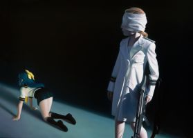 The Disasters of War 7 by gottfriedhelnwein