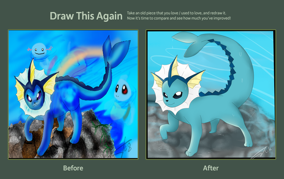 Draw again meme by Madam-Balthamos