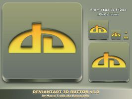 deviantArt 3D Button v1.0 by Ragnarokkr79