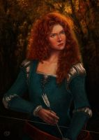 Princess Merida by sithness